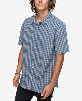 Quiksilver Men's Sun Rhythm Check Shirt