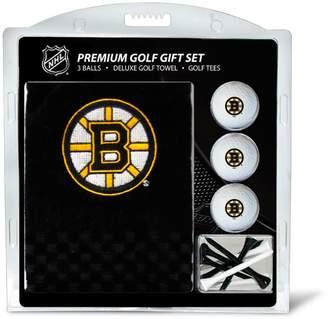 Team Golf Boston Bruins Embroidered Towel Gift Set