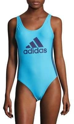 adidas One-Piece Logo Tank Swimsuit