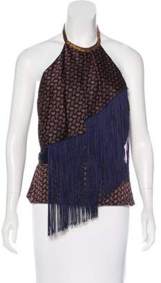 J. Mendel Sleeveless Paisley Top w/ Tags