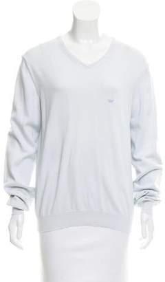 Emporio Armani V-Neck Pullover Sweater