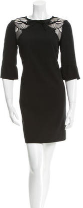 Alice by Temperley Embroidered Shift Dress $95 thestylecure.com