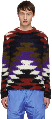 Moncler 2 1952 Multicolor Crewneck Sweater