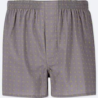 Uniqlo Men's Woven Printed Boxers
