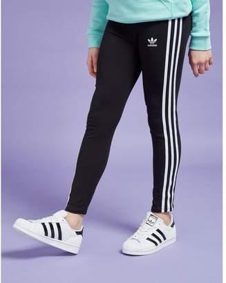 adidas Girls' Trefoil 3-Stripes Leggings Junior