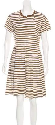 Marc by Marc Jacobs Striped A-Line Dress