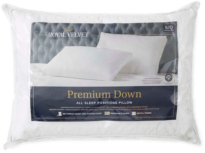 ROYAL VELVET Royal Velvet Premium Down Pillow
