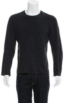 Ann Demeulemeester Crew Neck Long Sleeve T-Shirt