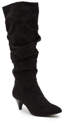 Kenneth Cole Reaction Kick-ing Slouch Kitten Heel Boot