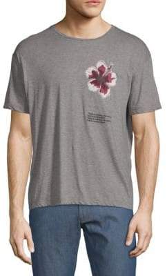 Valentino Floral Graphic Cotton Tee