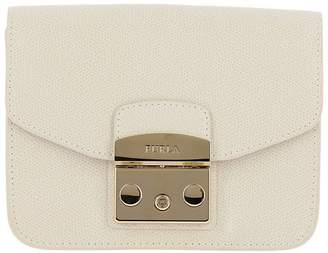 Furla Mini Bag Metropolis Mini Bag In Textured Leather With Shoulder Strap