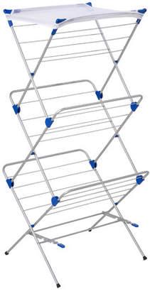 Honey-Can-Do 3 Tier Mesh Top Drying Rack 43 Linear Feet