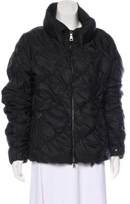 Prada Sport Zip-Up Puffer Jacket