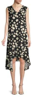 Lord & Taylor Leah High-Low Shift Dress