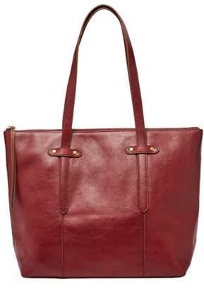 Fossil Felicity Tote Handbag Cabernet