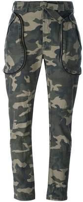 Faith Connexion camouflage trousers