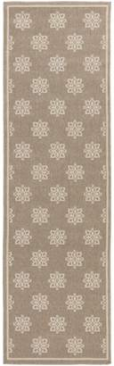 Surya ALF9607-3656 Machine Made Traditional Accent Rug, 3-Feet 6-Inch by 5-Feet 6-Inch, Taupe/Beige
