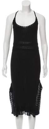 Gianfranco Ferre GF Rib Knit Dress