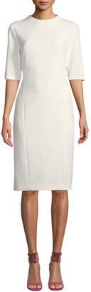 Trina Turk Aperitif Double-Weave Bodycon Dress