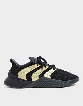 adidas Sobakov Boost Sneaker in Black