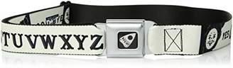 Buckle-Down Men's Seatbelt Belt Ouija Board Regular