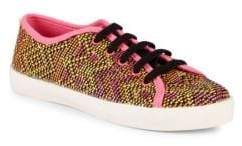 Sam Edelman Girl's Naomi Lace-Up Sneakers