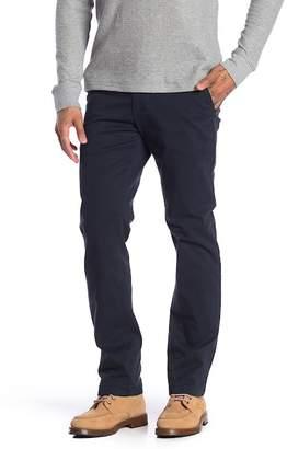 Joe Fresh Solid Slim Straight Leg Pants