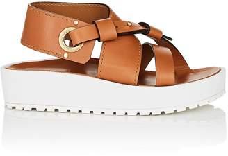 Chloé Women's Scottie Leather Platform Sandals