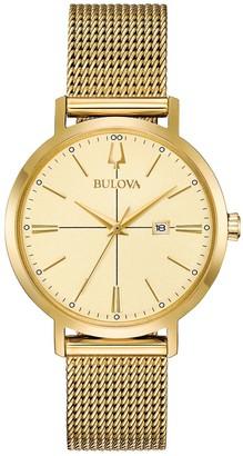 Bulova Women's Goldtone AeroJet Dress BraceletWatch