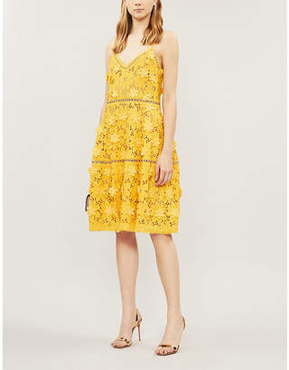 MICHAEL Michael Kors Floral guipure-lace dress
