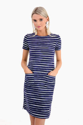 Americana Persifor Eclipse Baie Stripe Carter Dress