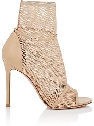Gianvito Rossi Women's Idol Leather & Mesh Sandals