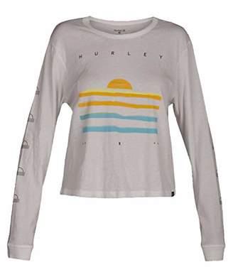 Hurley Junior's Graphic Long Sleeve T Shirt