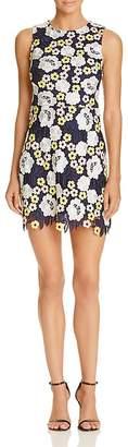 AQUA Multi-Color Lace Dress - 100% Exclusive $118 thestylecure.com