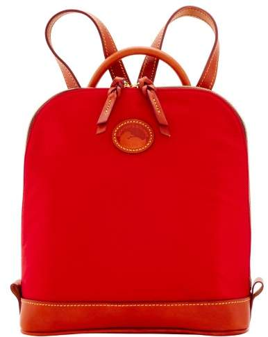 Dooney & Bourke Nylon Zip Pod Backpack - RED - STYLE