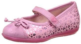 Agatha Ruiz De La Prada Girls' 172971 Mary Janes, Pink ROSA Y Estampado Corazones, 25 25 EU