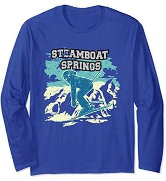 Steamboat Springs Ski Long Sleeve shirt - Ski Apparel