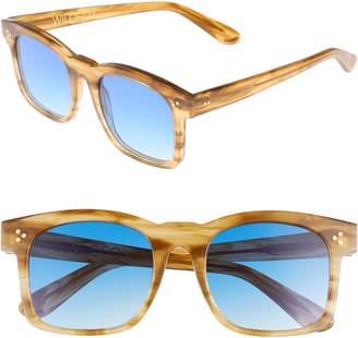 Wildfox Couture Gaudy Zero 51mm Flat Square Sunglasses
