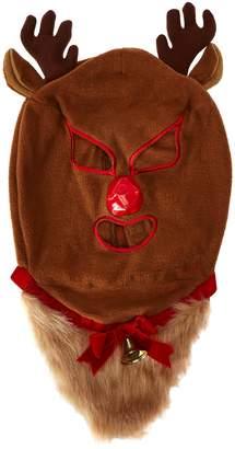 B Cozy Bcozy Men's Animal Hat Beared Christmas Deer Luchador