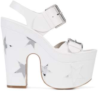 Stella McCartney platform star sandals