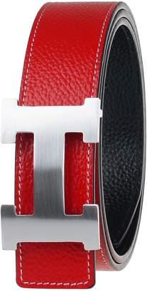 Moraner Golden fame New Designer H Buckle Belt, High Quality Luxury Men's Leather Waist Belts