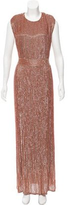 Jenny Packham Silk Beaded Gown $1,395 thestylecure.com
