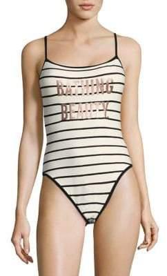 Kate Spade Bathing Beauty Bodysuit