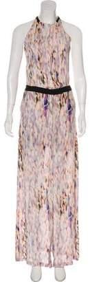A.L.C. Sleeveless High-Low Dress