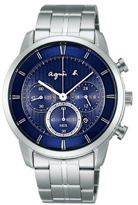 agnès b. (アニエス ベー) - アニエスベー agnesb クロノグラフ ソーラー FBRD980 [国内正規品] メンズ 腕時計 時計