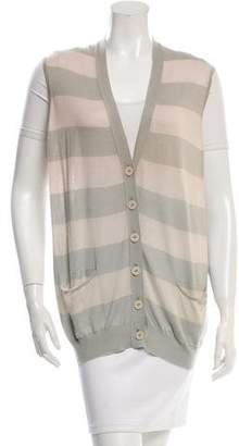 Stella McCartney Silk Striped Vest w/ Tags