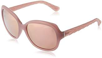 Vogue Women's Plastic Woman Non-Polarized Iridium Square Sunglasses