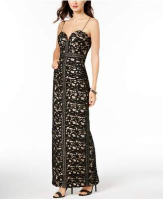 Betsy & Adam Crocheted Lace Gown