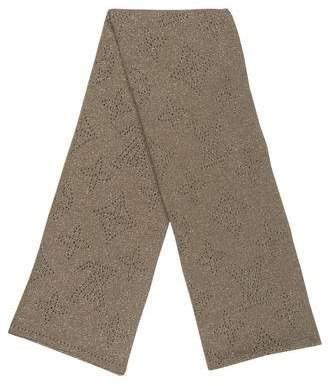 Louis Vuitton Metallic Monogram Scarf