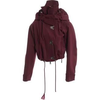 Versus Burgundy Jacket for Women